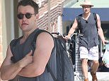 Joel Edgerton riding his bike through Bondi today.\nSaturday 26/03/2016 �CHOWN IMAGE