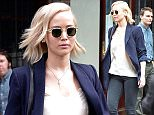 Jennifer Lawrence leaves her hotel in NYC.\n\nPictured: Jennifer Lawrence\nRef: SPL1252213  250316  \nPicture by: Splash News\n\nSplash News and Pictures\nLos Angeles: 310-821-2666\nNew York: 212-619-2666\nLondon: 870-934-2666\nphotodesk@splashnews.com\n