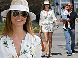 *EXCLUSIVE* West Hollywood, CA - Stacy Keibler and husband Jared Pobre took her cute baby girl Ava Grace out while enjoying a family trip to high-end baby boutique Bel Bambini. Keibler enjoyed the sunny Spring weather wearing a floral print romper which she accessorized with a Fedora hat and strap leather sandals matching her oversized suede tote.\nAKM-GSI         March 25, 2016\nTo License These Photos, Please Contact :\nSteve Ginsburg\n(310) 505-8447\n(323) 423-9397\nsteve@akmgsi.com\nsales@akmgsi.com\nor\nMaria Buda\n(917) 242-1505\nmbuda@akmgsi.com\nginsburgspalyinc@gmail.com