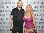 """LAS VEGAS, NEVADA - MARCH 27:  Actor/rapper Ice-T (L) and his wife, model Nicole """"Coco"""" Austin, attend Austin's birthday party at Foxtail Nightclub at SLS Las Vegas on March 27, 2016 in Las Vegas, Nevada.  (Photo by Gabe Ginsberg/Getty Images)"""