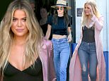 Van Nuys, CA - Kendall Jenner shows off her long legs in style on the way into the studio. The young model looked even taller than normal in Stella McCartney platforms, paired with high waisted jeans, a black crop top, a wide brimmed hat, and accessorized with a Fendi pom pom charm and YSL clutch.\nAKM-GSI        March 25, 2016\nTo License These Photos, Please Contact :\nSteve Ginsburg\n(310) 505-8447\n(323) 423-9397\nsteve@akmgsi.com\nsales@akmgsi.com\nor\nMaria Buda\n(917) 242-1505\nmbuda@akmgsi.com\nginsburgspalyinc@gmail.com