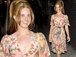 Lana Del Rey was seen at 'Lady Gaga's' Birthday party at 'No Name' Restaurant in Los Angeles, CA. Lana was wearing a summer dress with a floral print.\n\nPictured: Lana del Rey\nRef: SPL1253060  270316  \nPicture by: SPW / TwisT / Splash News\n\nSplash News and Pictures\nLos Angeles: 310-821-2666\nNew York: 212-619-2666\nLondon: 870-934-2666\nphotodesk@splashnews.com\n