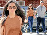 Exclusive... 52005260 'X-Men: Apocalypse' actress Olivia Munn and Aaron Rodgers were spotted leaving an agents office in Beverly Hills, California on March 25, 2016.  The two were hand-in-hand while they walked out of the office. FameFlynet, Inc - Beverly Hills, CA, USA - +1 (310) 505-9876