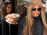 NEW YORK, NY - JANUARY 05: Cynthia Bailey, star of 'The Real Housewives of Atlanta' seen leaving Good Day New York on January 05, 2016 in New York City.  (Photo by MPI615/Bauer-Griffin/GC Images)