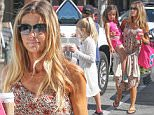 Exclusive... 52005407 Actress and former model Denise Richards was spotted out in Malibu, California on March 25, 2016 with her kids.  Her ex-husband Charlie Sheen is no longer able to afford her child support payments. FameFlynet, Inc - Beverly Hills, CA, USA - +1 (310) 505-9876