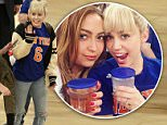 New York, NY - Miley Cyrus is a blonde bombshell with sister Brandi at the New York Knicks VS Cleveland Cavaliers basketball game held at Madison Square Garden. Miley seemingly loves watching the game, and the players, as she is seen smiling ear to ear Miley style. The two sisters are seen meeting up with their mom Tish as they depart the stadium.\n  \nAKM-GSI       March 26, 2016\nTo License These Photos, Please Contact :\nSteve Ginsburg\n(310) 505-8447\n(323) 423-9397\nsteve@akmgsi.com\nsales@akmgsi.com\nor\nMaria Buda\n(917) 242-1505\nmbuda@akmgsi.com\nginsburgspalyinc@gmail.com