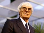 F1 supremo Bernie Ecclestone looks on in the paddock during previews ahead of the Singapore Formula One Grand Prix at Marina Bay Street Circuit on September 18, 2014 in Singapore, Singapore.     SINGAPORE - SEPTEMBER 18:  (Photo by Clive Mason/Getty Images)