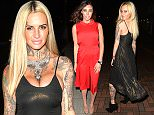 LONDON, UNITED KINGDOM - MARCH 25: Reality TV star Jemma Lucy seen at Hard Rock Cafe, park lane for a night out on March 25, 2016 in London, United Kingdom. PHOTOGRAPH BY Eagle Lee / Barcroft Media UK Office, London. T +44 845 370 2233 W www.barcroftmedia.com USA Office, New York City. T +1 212 796 2458 W www.barcroftusa.com Indian Office, Delhi. T +91 11 4053 2429 W www.barcroftindia.com