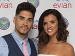 Mandatory Credit: Photo by Ray Tang/REX/Shutterstock (4897998v)\nLouis Smith and Lucy Mecklenburgh take part in #wimbledonwatch for evian at Wimbledon 2015, see more at evian.wimbledon.com\nWimbledon Tennis Championships, London, Britain - 07 Jul 2015\n\n