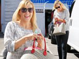 Hollywood, CA - Jodie Sweetin smiles sweetly as she arrives to the DWTS studio ahead of Keo Motsepe. The first elimination round is coming up in the reality show, but the duo don't seem to be worried.\nAKM-GSI         March 25, 2016\nTo License These Photos, Please Contact :\nSteve Ginsburg\n(310) 505-8447\n(323) 423-9397\nsteve@akmgsi.com\nsales@akmgsi.com\nor\nMaria Buda\n(917) 242-1505\nmbuda@akmgsi.com\nginsburgspalyinc@gmail.com