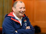 BAGSHOT, ENGLAND - MARCH 21:  Eddie Jones during the England Media Access at Pennyhill Park on March 21, 2016 in Bagshot, England.  (Photo by Patrik Lundin/Getty Images)