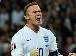 LONDON, ENGLAND - SEPTEMBER 08:  Wayne Rooney of England celebrates scoring their second goal from the penalty spot during the UEFA EURO 2016 Group E qualifying match between England and Switzerland at Wembley Stadium on September 8, 2015 in London, United Kingdom. Wayne Rooney's 50th goal breaks the record for most international goals scored for England. Sir Bobby Charlton held the record previously with 49 goals.  (Photo by Shaun Botterill/Getty Images)