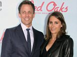 Mandatory Credit: Photo by MediaPunch/REX/Shutterstock (5203604x)\nSeth Meyers and Alexi Ashe\n'Red Oaks' Amazon TV series premiere, New York, America - 29 Sep 2015\n\n