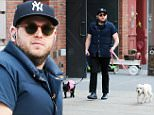 Picture Shows: Jonah Hill  March 27, 2016\n \n Actor Jonah Hill is spotted taking his two dogs for a walk in New York City, New York. The actor has a new film called 'War Dogs' with Miles Teller, coming out in August.\n \n Non-Exclusive\n UK RIGHTS ONLY\n \n Pictures by : FameFlynet UK � 2016\n Tel : +44 (0)20 3551 5049\n Email : info@fameflynet.uk.com