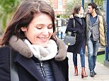 27.March.2016 - London - UK **EXCLUSIVE ALL ROUND PICTURES** Actress Gemma Arterton out for a meal with French director and boyfriend Franklin Ohanessian as they left the Ivy Chelsea Garden in London. BYLINE MUST READ : XPOSUREPHOTOS.COM ***UK CLIENTS - PICTURES CONTAINING CHILDREN PLEASE PIXELATE FACE PRIOR TO PUBLICATION*** UK CLIENTS MUST CALL PRIOR TO TV OR ONLINE USAGE PLEASE TELEPHONE 0208 344 2007