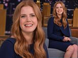 "NEW YORK, NY - MARCH 25:  Amy Adams Visits ""The Tonight Show Starring Jimmy Fallon"" at NBC Studios on March 25, 2016 in New York City.  (Photo by Theo Wargo/Getty Images for NBC)"