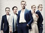 Programme Name: The Night Manager - TX: 21/02/2016 - Episode: The Night Manager - Generics (No. Generics) - Picture Shows:  Corkoran (TOM HOLLANDER), Burr (OLIVIA COLMAN), Jonathan Pine (TOM HIDDLESTON), Jed (ELIZABETH DEBICKI), Roper (HUGH LAURIE) - (C) The Ink Factory - Photographer: Mitch Jenkins