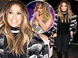 """26 Mar 2016 - Moscow - Russia\nJennifer Lopez go shopping at boutique """"Aizel"""" in Moscow. The star was dressed in a black turtleneck, leggings and a fur coat. JLo didn't look tired, she's had selfie, smiling and waving paparazzi. Jennifer Lopez and others singers - Sting, Enrique Iglesias and Patricia Kaas were invited to performe at wedding of Said, the son of one of the richest men in Russia (Forbes magazine) Michael Gutseriva, who is owner of several radio stations and oil and gas companies of """"RosNeft"""" and """"NC Nephthys"""".\nBYLINE MUST READ : E-PRESS / XPOSUREPHOTOS.COM\n*AVAILABLE FOR UK SALE ONLY*\n***UK CLIENTS - PICTURES CONTAINING CHILDREN PLEASE PIXELATE FACE PRIOR TO PUBLICATION ***\n**UK CLIENTS MUST CALL PRIOR TO TV OR ONLINE USAGE PLEASE TELEPHONE  +44 208 344 2007"""