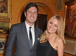 LONDON, ENGLAND - JUNE 01:  Vernon Kay (L) and Tess Daly attend 'Goldie's Love-In For The Kids', the 4th annual Hawn Foundation UK fundraising dinner hosted by Goldie Hawn and Kate Hudson, supported by de GRISOGONO at Annabel?s on June 1, 2015 in London, England.   For more information, visit www.thehawnfoundation.co.uk. Pic Credit: Dave Benett