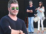 Simon Cowell out with his wife at Nobu.  Pictured: Simon Cowell  Ref: SPL1253278  270316   Picture by: Jacson / Splash News  Splash News and Pictures Los Angeles: 310-821-2666 New York: 212-619-2666 London: 870-934-2666 photodesk@splashnews.com