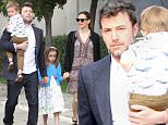 Supportive yet divorcing, Ben Affleck and Jennifer Garner attend Easter Sunday church service together. Arriving in the same car, the two together hold youngest daughter Seraphina's hands, and they also have their son Samuel with them. As A FamilySunday, March 27, 2016 X17online.com