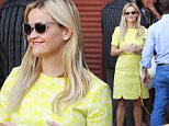*EXCLUSIVE* Santa Monica, CA - Reese Witherspoon attends church service with her family on Sunday. The 40-year-old actress shows off her Southern roots dressing in a  cheerful yellow Draper James dress. Ava was in attendance sporting her baby pink hair and wearing a floral dress with white flatform sandals. Reese's husband Jim was by her side for the Easter service in Santa Monica. \n  \nAKM-GSI      March 27, 2016\nTo License These Photos, Please Contact :\nSteve Ginsburg\n(310) 505-8447\n(323) 423-9397\nsteve@akmgsi.com\nsales@akmgsi.com\nor\nMaria Buda\n(917) 242-1505\nmbuda@akmgsi.com\nginsburgspalyinc@gmail.com
