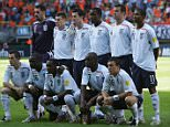 HEERENVEEN, NETHERLANDS - JUNE 20:  The England team pose for a team photograph during the UEFA U21 Championship semi-final match between Netherlands U21's and England U21's at the Abe Lenstra Stadium on June 20, 2007 in Heerenveen, Netherlands.  (Photo by Jamie McDonald/Getty Images)