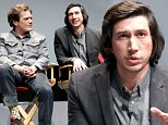 Mandatory Credit: Photo by Startraks Photo/REX/Shutterstock (5619666i)\nAdam Driver\n'Midnight Special' special film screening, New York, America - 28 Mar 2016\nTIME Inc & The Editors of Entertainment Weekly Present a Special Screening of 'Midnight Special' Followed by a Q&A\n