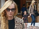 28.March.2016 - Studio City - USA\n***AVAILABLE FOR UK AND GERMANY SALE ONLY ***\n*EXCLUSIVE ALL ROUND PICTURES* \n Kimberly Stewart and daughter Delilah spend time together at the nail salon. The mother daughter duo leave the salon barefoot after getting pedicures. Kimberly is wearing skinny jeans and black top with a leopard blazer as she walks hand in hand with her little one. Delilah is wearing an adorable plaid dress as she is guided to the car by her mom. \nBYLINE MUST READ: AKM-GSI-XPOSURE\n***UK CLIENTS - PICTURES CONTAINING CHILDREN PLEASE PIXELATE FACE PRIOR TO PUBLICATION ***\n*UK CLIENTS MUST CALL PRIOR TO TV OR ONLINE USAGE PLEASE TELEPHONE 0208 344 2007*