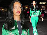 Rihanna wears an emerald colored Asian outfit while out and about in NYC.\n\nPictured: Rihanna\nRef: SPL1253473  280316  \nPicture by: Jackson Lee / Splash News\n\nSplash News and Pictures\nLos Angeles: 310-821-2666\nNew York: 212-619-2666\nLondon: 870-934-2666\nphotodesk@splashnews.com\n