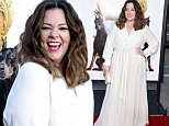"""WESTWOOD, CALIFORNIA - MARCH 28:  Actress/writer/producer Melissa McCarthy attends the premiere of USA Pictures' """"The Boss"""" at Regency Village Theatre on March 28, 2016 in Westwood, California.  (Photo by Frazer Harrison/Getty Images)"""