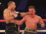 Editorial Use  Only Mandatory Credit: Photo by TGSPhoto/REX/Shutterstock (5619257aa) Nick Blackwell vs Chris Eubank Jr at Wembley Arena on 26th March 2016 Hennessy Boxing show, Wembley Arena, London, Britain - 26 Mar 2016