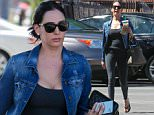 *EXCLUSIVE* Beverly Hills, CA - Lovely Lauren Silverman attends a pilates class in Beverly Hills. The curvy socialite wore a pair of dark leggings with a denim jacket over a black tank as she stopped to pick up a sock on her way back to her car at the valet.\nAKM-GSI     March  29, 2016\nTo License These Photos, Please Contact :\nSteve Ginsburg\n(310) 505-8447\n(323) 423-9397\nsteve@akmgsi.com\nsales@akmgsi.com\nor\nMaria Buda\n(917) 242-1505\nmbuda@akmgsi.com\nginsburgspalyinc@gmail.com