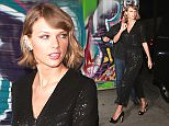 Taylor Swift arrives at the Lady Gaga birthday party at No Name restaurant in Hollywood\n\nPictured: Taylor Swift\nRef: SPL1252755  270316  \nPicture by: TwisT / SPW / Splash News\n\nSplash News and Pictures\nLos Angeles: 310-821-2666\nNew York: 212-619-2666\nLondon: 870-934-2666\nphotodesk@splashnews.com\n