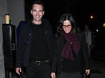 EXCLUSIVE: Courteney Cox And Johnny McDaid Dine At Craig's Restaurant in West Hollywood  Pictured: Courteney Cox And Johnny Mcdaid Ref: SPL1254253  300316   EXCLUSIVE Picture by: Photographer Group / Splash News  Splash News and Pictures Los Angeles: 310-821-2666 New York: 212-619-2666 London: 870-934-2666 photodesk@splashnews.com