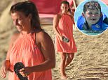 Coleen Rooney and family spotted walking the beach in Barbados\nPhotos taken on March 29th 2016\n\nRef: SPL1254086  300316  \nPicture by: Shanice King/246paps/Splash News\n\nSplash News and Pictures\nLos Angeles: 310-821-2666\nNew York: 212-619-2666\nLondon: 870-934-2666\nphotodesk@splashnews.com\n