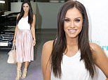 MUST BYLINE: EROTEME.CO.UK\n'I'm A Celebrity' winner Vicky Pattison is pictured leaving the ITV studios following a guest appearance on This Morning'.\nNON-EXCLUSIVE  March 30, 2016\nJob: 160330L2   London, England\nEROTEME.CO.UK\n44 207 431 1598\nRef: 341629\n