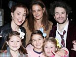 ***Not available as part of a subscription deal. Fee set at £150 before 22:00 on 30th March 2016 for use of the set before this time*** EXCLUSIVE ALLROUNDERKatie Holmes, Suri Cruise and a few friends meet the cast of the Broadway musical School Of Rock at the Winter Garden Theatre. Featuring: Sierra Boggess, Katie Holmes, Alex Brightman, Olivia Bond, Suri Cruise, Remy Bond Where: New York, New York, United States When: 30 Mar 2016 Credit: Joseph Marzullo/WENN.com **No Contact Music**