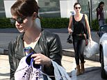 West Hollywood, CA - Actress Emma Stone and Victoria's Secret Angel Lily Aldridge exit Rise Movement gym in West Hollywood following a workout together. Emma slipped out the back exit for her car as Lily exited from the front of the gym smiling for the cameras along the way, in leather pants and a black tank with brown leather booties.\n \nAKM-GSI  March 30, 2016\nTo License These Photos, Please Contact :\nSteve Ginsburg\n(310) 505-8447\n(323) 423-9397\nsteve@akmgsi.com\nsales@akmgsi.com\nor\nMaria Buda\n(917) 242-1505\nmbuda@akmgsi.com\nginsburgspalyinc@gmail.com