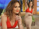 """THE VIEW - Jennifer Lopez visits """"THE VIEW,"""" airing Thursday, March 31, 2016 (11:00 a.m. - 12:00 noon, ET) on the ABC Television Network.    (Photo by Lou Rocco/ABC via Getty Images)  JENNIFER LOPEZ"""