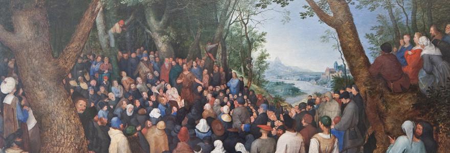 Mysticism Preaching John Baptist