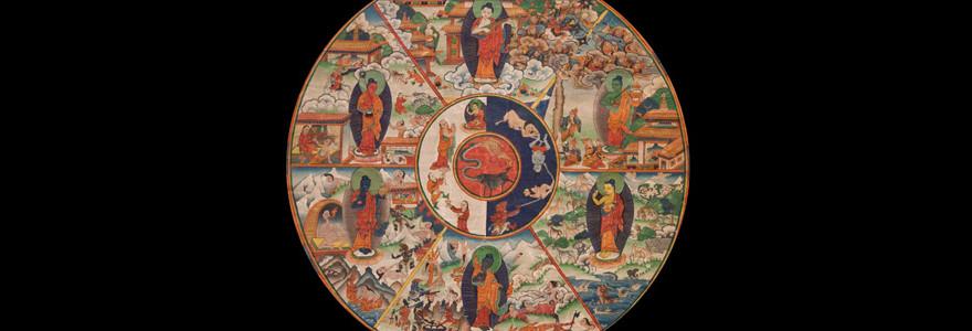 Mystical Dharma Wheel