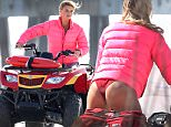 Picture Shows: Kelly Rohrbach  March 30, 2016\n \n The cast of 'Baywatch' is spotted riding along the beach on four-wheelers in Savannah, Georgia.\n \n Non Exclusive\n UK RIGHTS ONLY\n \n Pictures by : FameFlynet UK © 2016\n Tel : +44 (0)20 3551 5049\n Email : info@fameflynet.uk.com