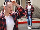 Exclusive... 52008278 Rose McGowan was spotted heading to the bank in Los Angeles, California on March 30, 2016. Rose's dog recently attacked her neighbor leaving the victim with severe brain damage, but Rose's response was it's not her fault that her dog knocked over her 85-year-old neighbor. (Pagesix) FameFlynet, Inc - Beverly Hills, CA, USA - +1 (310) 505-9876