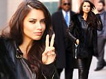 Mandatory Credit: Photo by Zelig Shaul/ACE Pictures/REX/Shutterstock (5621738b)\nAdriana Lima\nAdriana Lima out and about, New York, America - 30 Mar 2016\nAdriana Lima arriving at a photo studio\n