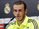 MADRID, SPAIN - MARCH 30: Gareth Bale of Real Madrid attends a press conference at Valdebebas training ground on March 30, 2016 in Madrid, Spain. (Photo by Angel Martinez/Real Madrid via Getty Images)
