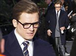 30 Mar 2016  - London  - uk *** EXCLUSIVE ALLROUND PICTURES *** British actor Taron Egerton spotted taking a break from filming The Kingsman 2 the golden circle in London!! BYLINE MUST READ : XPOSUREPHOTOS.COM ***UK CLIENTS - PICTURES CONTAINING CHILDREN PLEASE PIXELATE FACE PRIOR TO PUBLICATION *** **UK CLIENTS MUST CALL PRIOR TO TV OR ONLINE USAGE PLEASE TELEPHONE  442083442007**