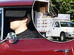 EXCLUSIVE: Guard stands watch while moving vans work outside the Affleck/Garner residence in Los Angeles, CA.\n\nPictured: Affleck Garner home\nRef: SPL1253911  300316   EXCLUSIVE\nPicture by: Splash News\n\nSplash News and Pictures\nLos Angeles: 310-821-2666\nNew York: 212-619-2666\nLondon: 870-934-2666\nphotodesk@splashnews.com\n