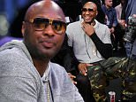 LOS ANGELES, CA - MARCH 30:  Lamar Odom attends a basketball game between the Miami Heat and the Los Angeles Lakers at Staples Center on March 30, 2016 in Los Angeles, California.  (Photo by Noel Vasquez/GC Images)