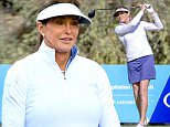 Rancho Mirage, CA - Big day for Caitlyn Jenner ... she just teed off in her 1st golf tournament as a woman -- and SMASHED her first shot right down the fairway. Jenner is participating in the ANA Inspiration Pro-Am in Rancho Mirage, CA -- playing in the same foursome as U.S. soccer legend, Abby Wambach. For the record, Caitlyn's first swing looked GREAT -- confident, good follow through and powerful. Abby looked okay ... but it's clear she's gonna have her work cut out for her if she wants to hang with CJ. It's an 18 hole tournament ... so anything can happen. Stay tuned.\nAKM-GSI          March 30, 2016\nTo License These Photos, Please Contact :\nSteve Ginsburg\n(310) 505-8447\n(323) 423-9397\nsteve@akmgsi.com\nsales@akmgsi.com\nor\nMaria Buda\n(917) 242-1505\nmbuda@akmgsi.com\nginsburgspalyinc@gmail.com